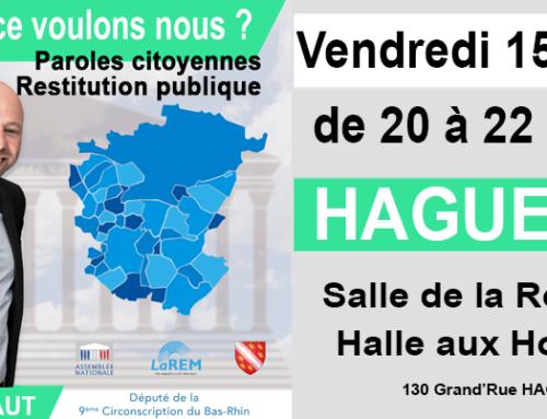 HAGUENAU – Alsace Paroles Citoyennes – Réunion finale