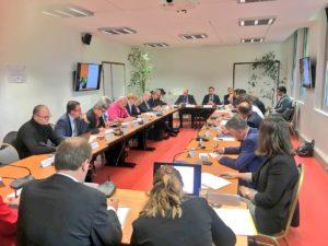 Réunion du comité de pilotage de la 1ère séquence des « Assises de l'eau » consacrée à la modernisation des réseaux d'eau et d'assainissement