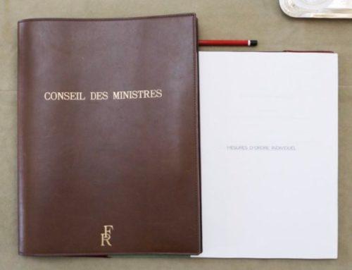 Projet de loi portant mesures d'urgence économique et sociale
