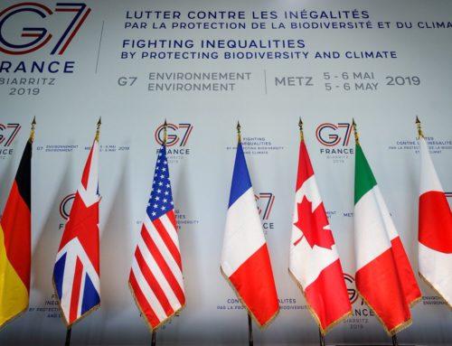 Les députés de la Commission Développement Durable au G7 Environnement.