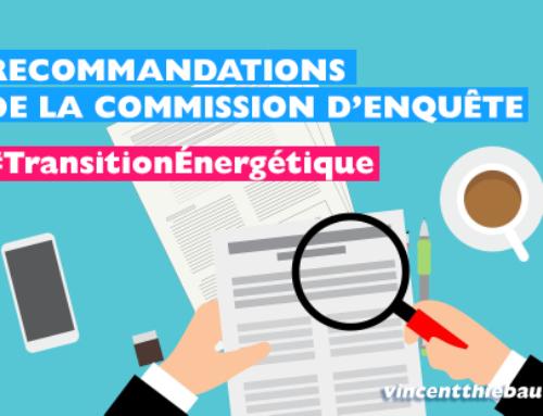 Recommandations de la Commission d'enquête sur la Transition Énergétique