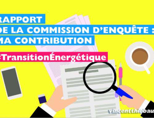 Commission d'enquête énergies renouvelables – contribution