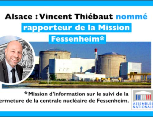 Nucléaire : une mission d'information sur la centrale Fessenheim
