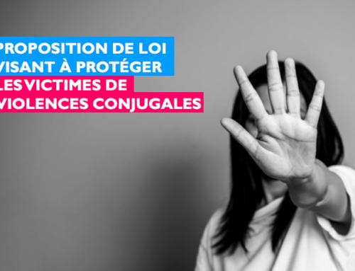Les députés LaREM s'engagent pour la protection des victimes de violences conjugales