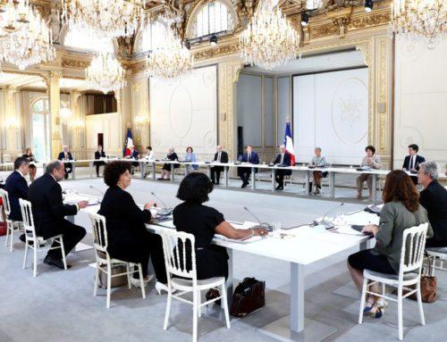 1er Conseil des ministres Jean Castex : quatre axes prioritaires pour 600 jours d'action.