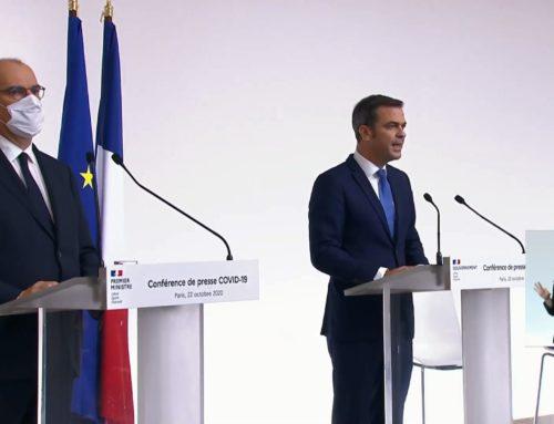 Conférence de presse du 13/11 – Reconduction des mesures de confinement jusqu'au 1er décembre