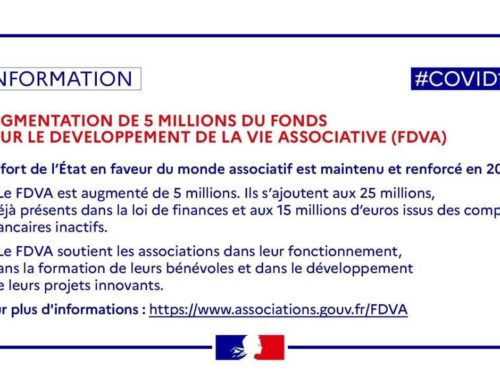 Associations – Présentation du Fonds pour le Développement de la Vie Associative