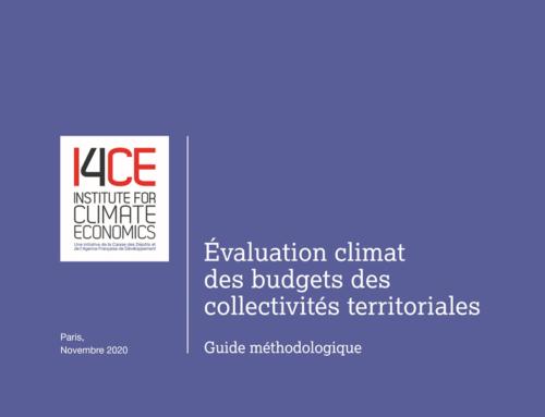 Évaluation Climat des budgets des collectivités territoriales