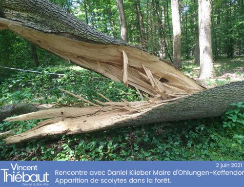 Ohlungen-Keffendorf : Rencontre avec le Maire Daniel Klieber